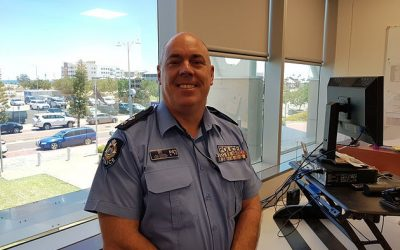 Local Community, Respect & Equality Champion is a top cop who personally champions family violence prevention