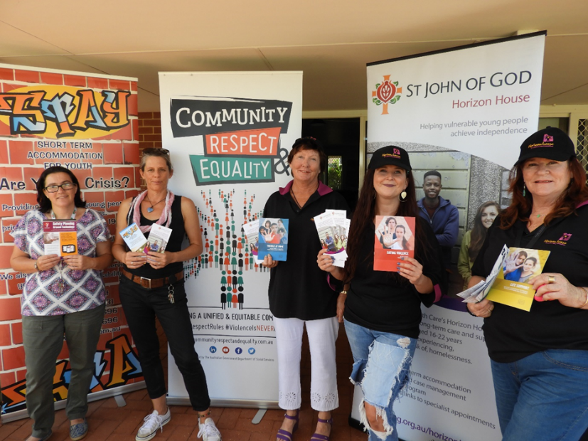 Community, Respect, & Equality (CRE) Week – as a community we say #ViolenceIsNEVEROk in Geraldton